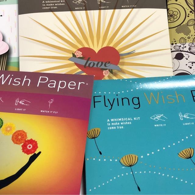Flying Wish Paper Kit, Large